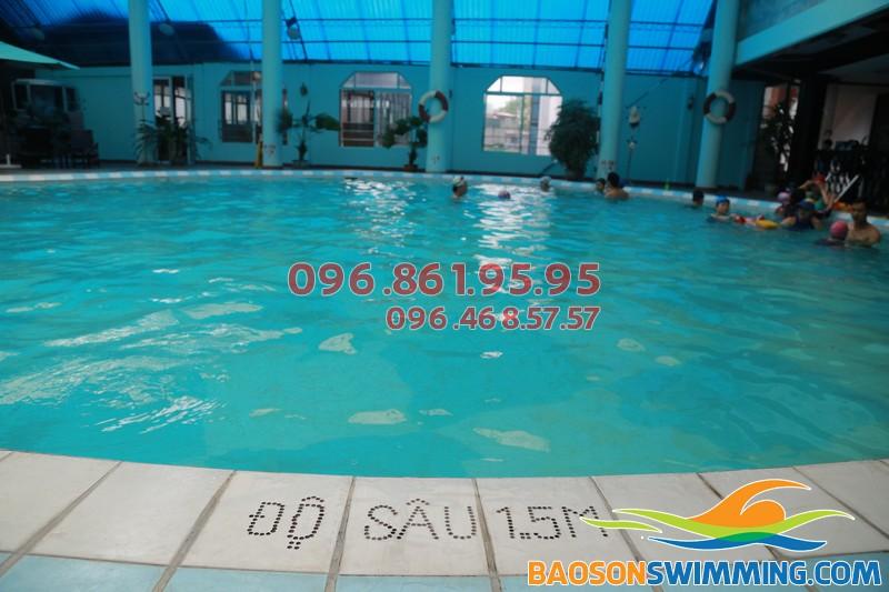 Vì sao nên học bơi tại khách sạn Bảo Sơn?
