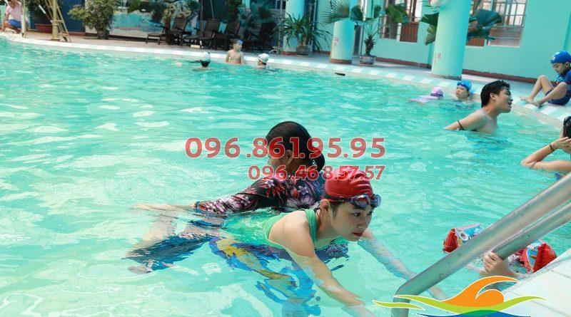 Lợi ích của học viên khi học bơi tại bể bơi Bảo Sơn