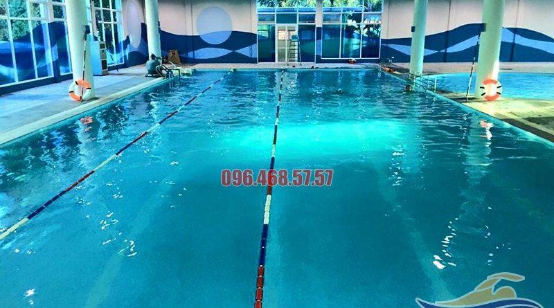 Học bơi cấp tốc hè 2017 tại bể bơi Vạn Bảo