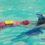 Lớp học bơi cơ bản chất lượng tại bể bơi cho bé khách sạn Bảo Sơn