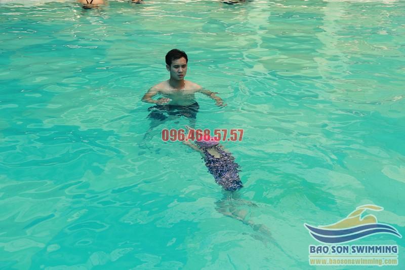 Địa chỉ học bơi kèm riêng nâng cao bể bơi khách sạn Bảo Sơn uy tín 2017