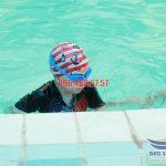 Lớp học bơi chuyên nghiệp cho trẻ em tại bể bơi khách sạn Bảo Sơn