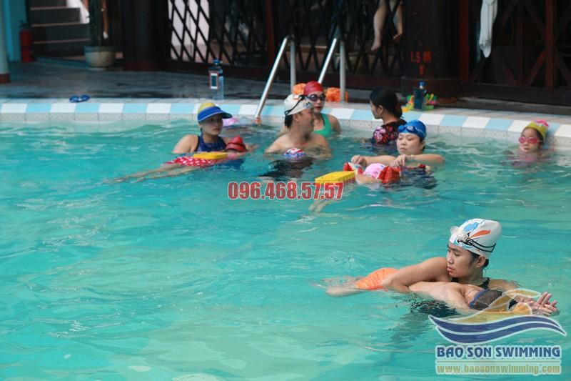 Bảo Sơn Swimming trung tâm dạy bơi ếch uy tín bể bơi khách sạn Bảo Sơn