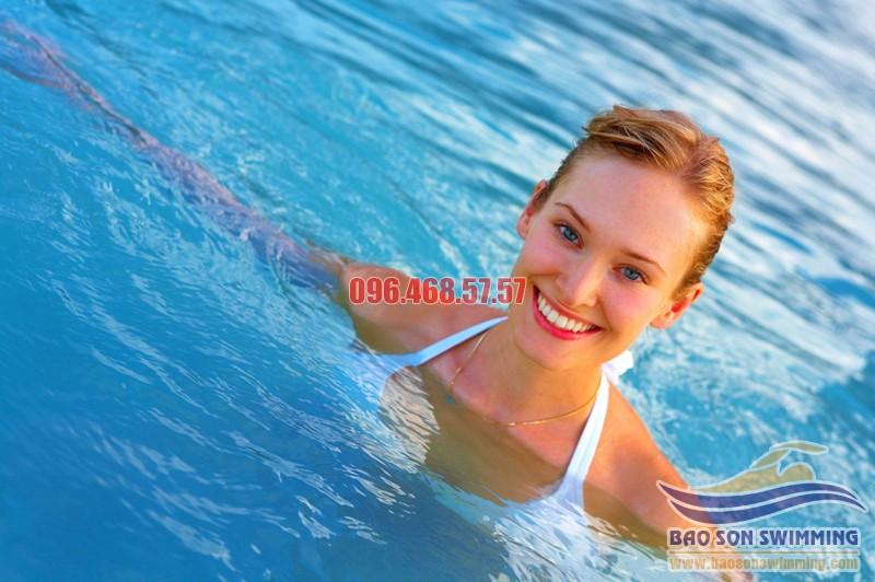 Trung tâm dạy bơi kèm riêng uy tín, chất lượng bể bơi khách sạn Bảo Sơn