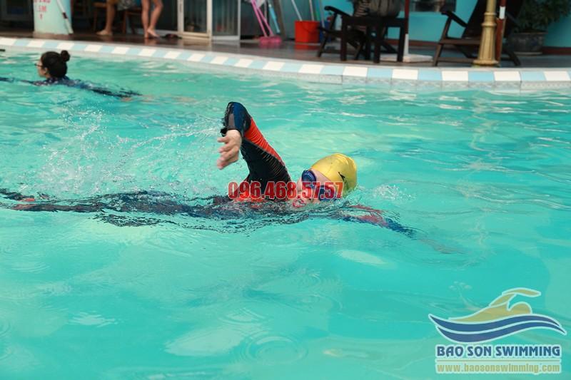 Trung tâm dạy học bơi sải nhanh, uy tín, chất lượng tại Hà Nội