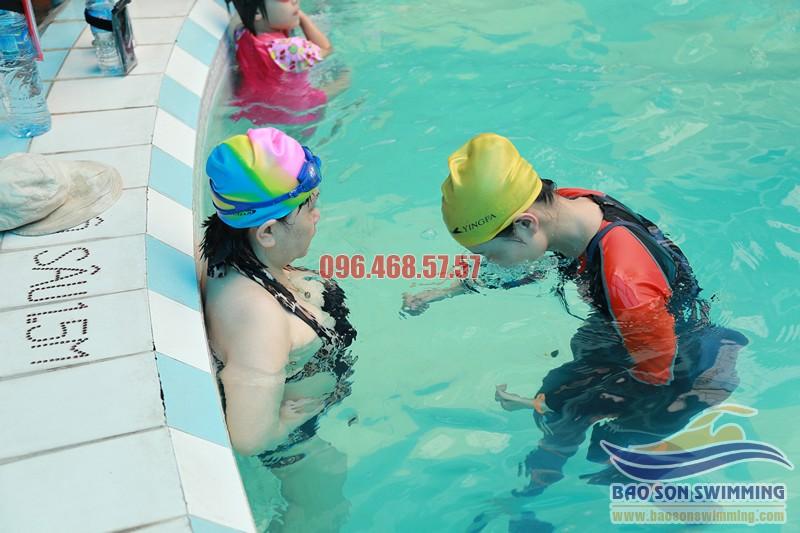 Trung tâm dạy bơi ở bể Bảo Sơn uy tín, chất lượng