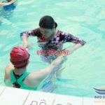 Dạy học bơi bể bơi khách sạn Bảo Sơn kèm riêng, cam kết bơi thành thạo