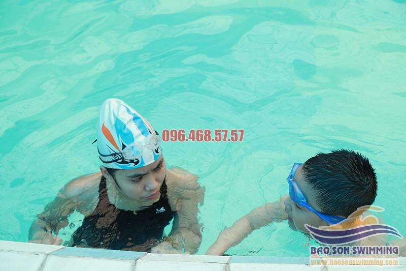 Bảo Sơn Swimming trung tâm dạy bơi kèm riêng chuyên nghiệp tại Hà Nội