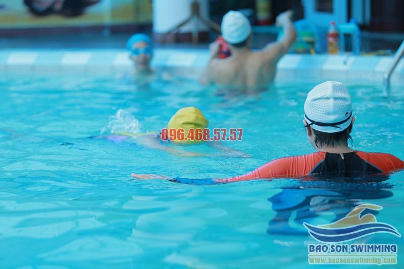 Bí quyết dạy học bơi hiệu quả của Bảo Sơn Swimming