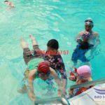 Lớp học bơi bướm chuyên nghiệp tại bể bơi Hapulico
