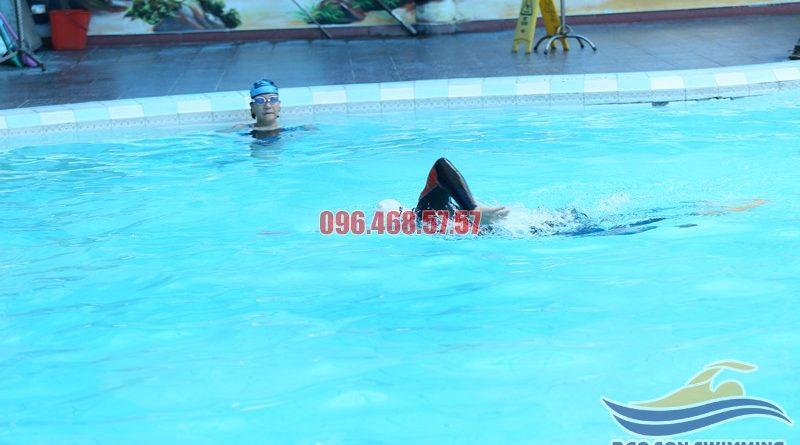 Hướng dẫn bơi sải - Kỹ thuật bơi sải cơ bản